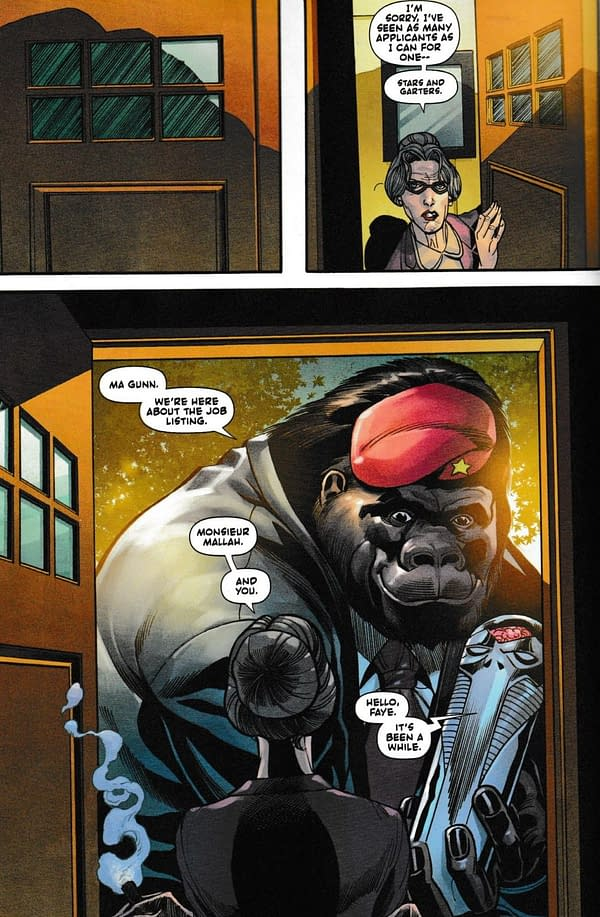 Where In The World Are Monsieur Mallah And The Brain? (Spoilers)