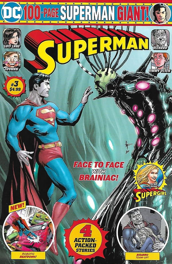 Walmart Superman Giant Volume 2 #3 Mass Market Cover.