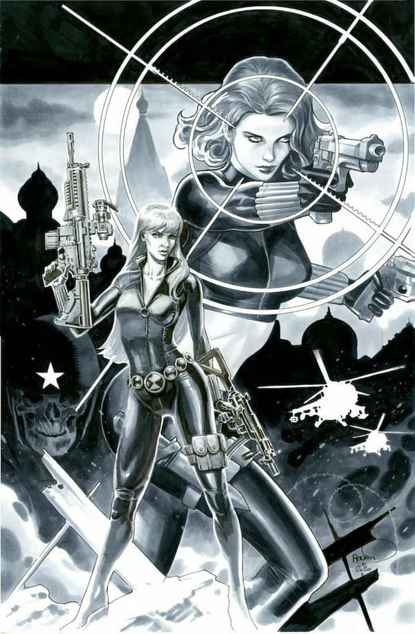 J Scott Campbell's Rogue/Psyclock Tops $15K For Hero Charity Auction
