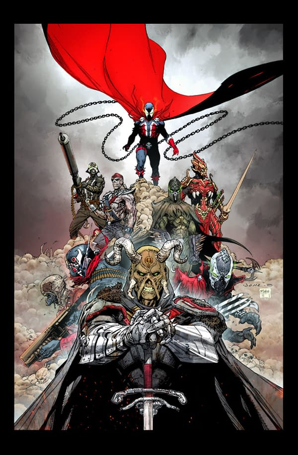 Todd McFarlane Announces Spawn Universe - 3 New Comics at ComicsPro