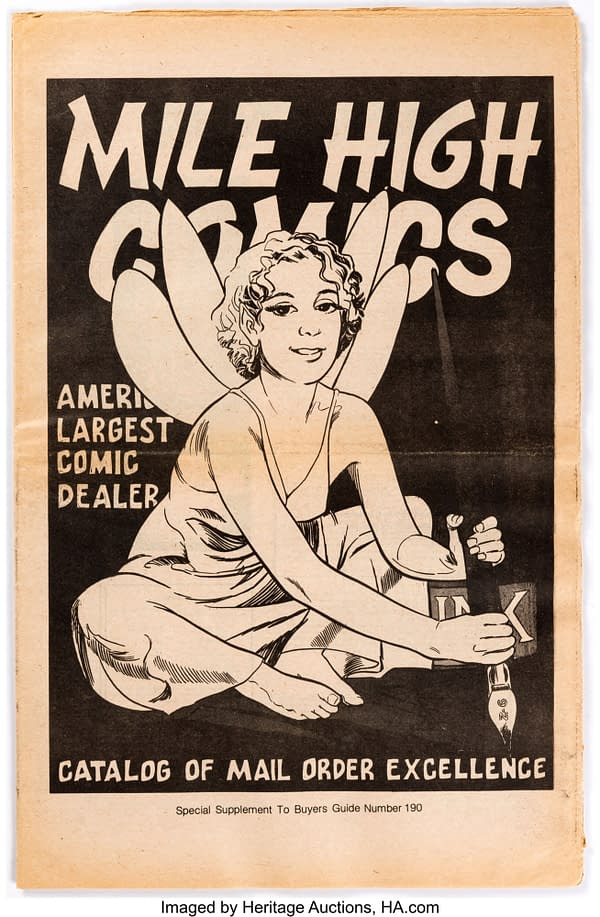 The First Mile High Comics Catolog Is Now Itself Being Auctioned