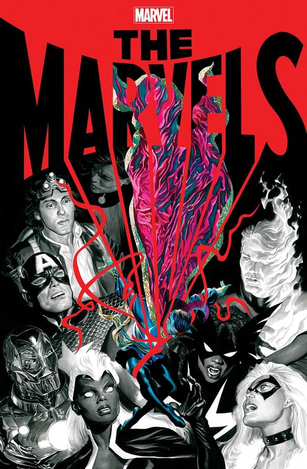 Cover image for THE MARVELS #5
