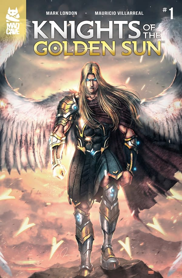 Knights Of The Golden Sun #1 Review: Doesn't Quite Shine Brightly Enough