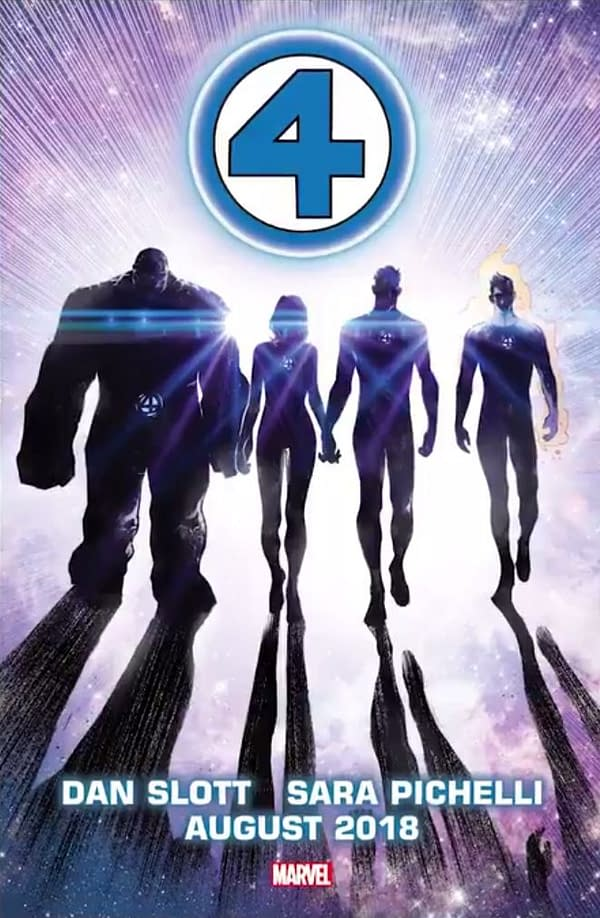 Fantastic Four Returns this Summer from Dan Slott and Sara Pichelli