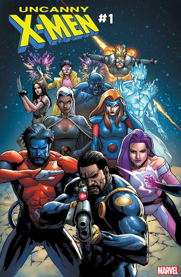 Not a Single Foot Has Appeared on an Uncanny X-Men Relaunch Cover… The '90s Are Back, Baby!