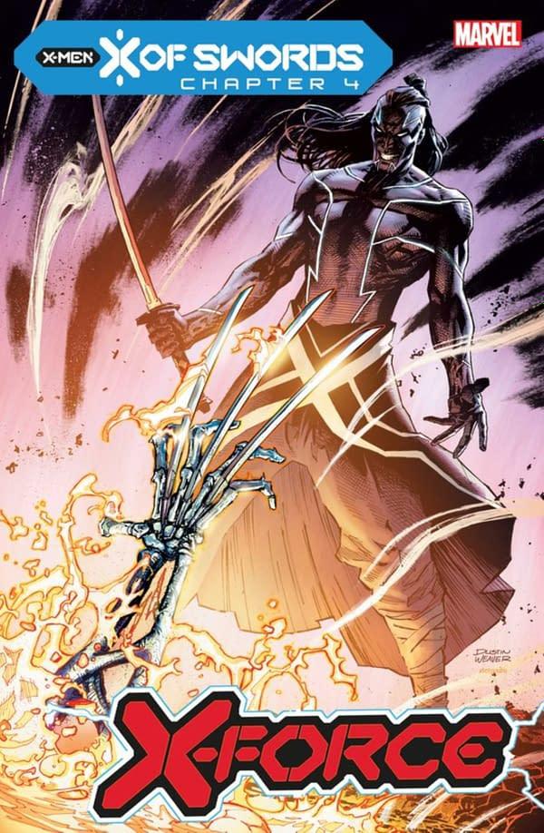 Marvel Creators Reveal X Of Swords October Solicitations.