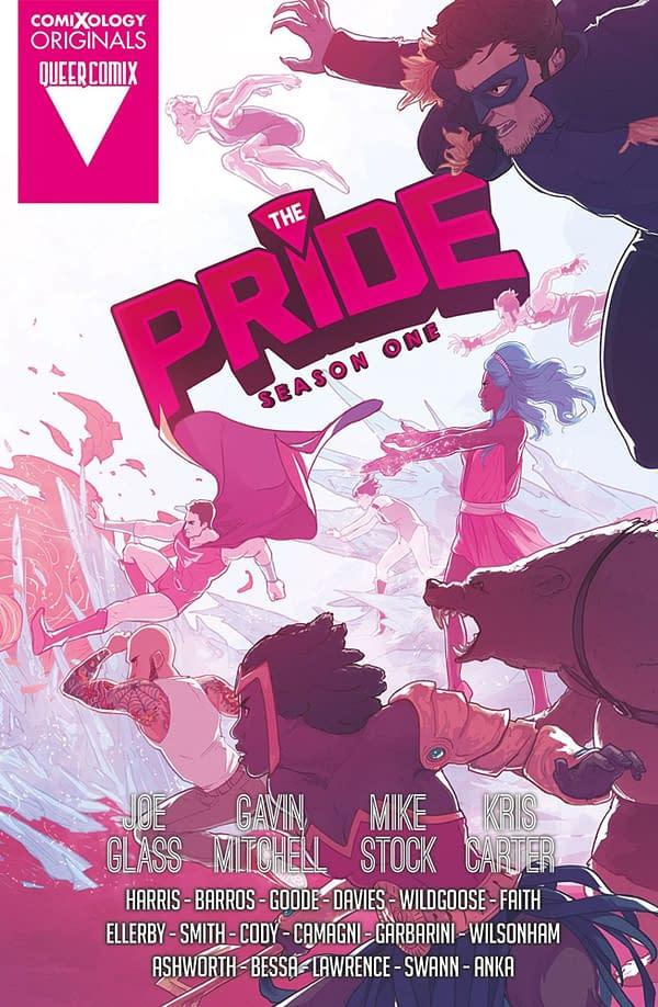 The Pride Season One by Joe Glass. Credit: ComiXology Originals