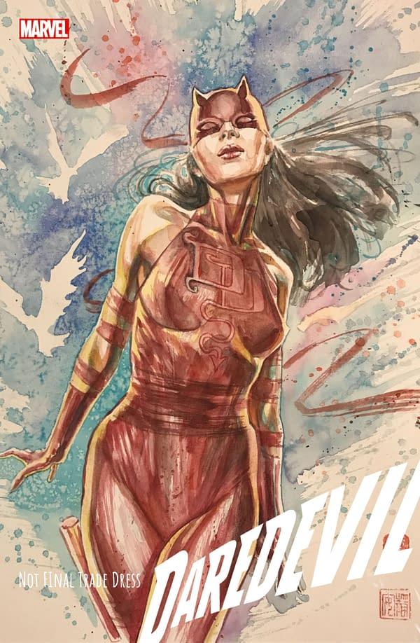 VariantWatch: David Mack Draws Elektra Daredevil #25 - Or Did He?