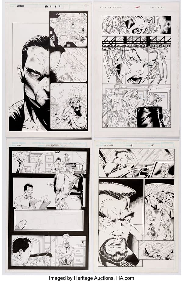From League To Violator Vs Badrock - Alan Moore's Nineties At Auction