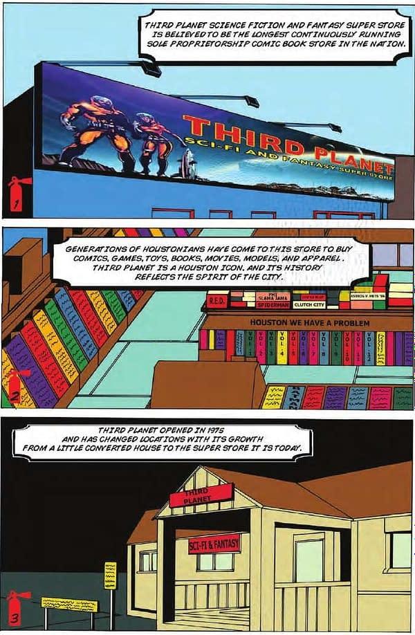 Texan Comic Store Files Lawsuit In Comic Book Form