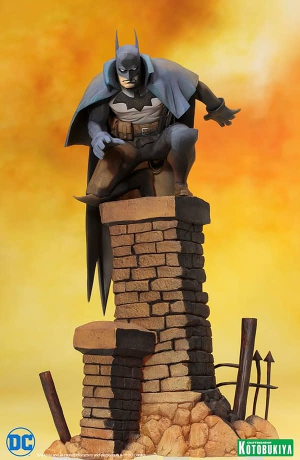 Batman From Gotham By Gaslight Gets The Statue He Deserves