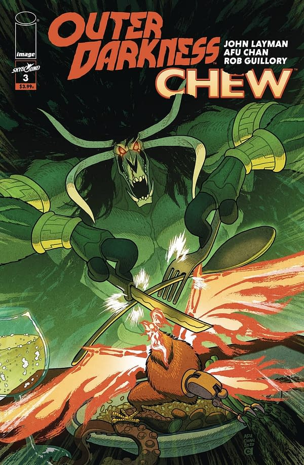 Outer Darkness/Chew #3 Cover A