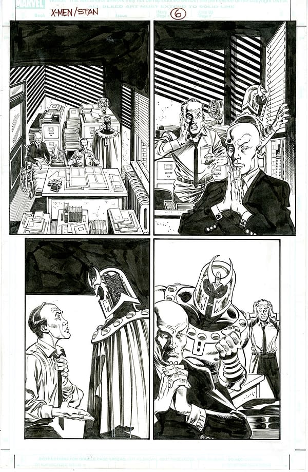 Page 6 By Ron Frenz & Tom Palmer