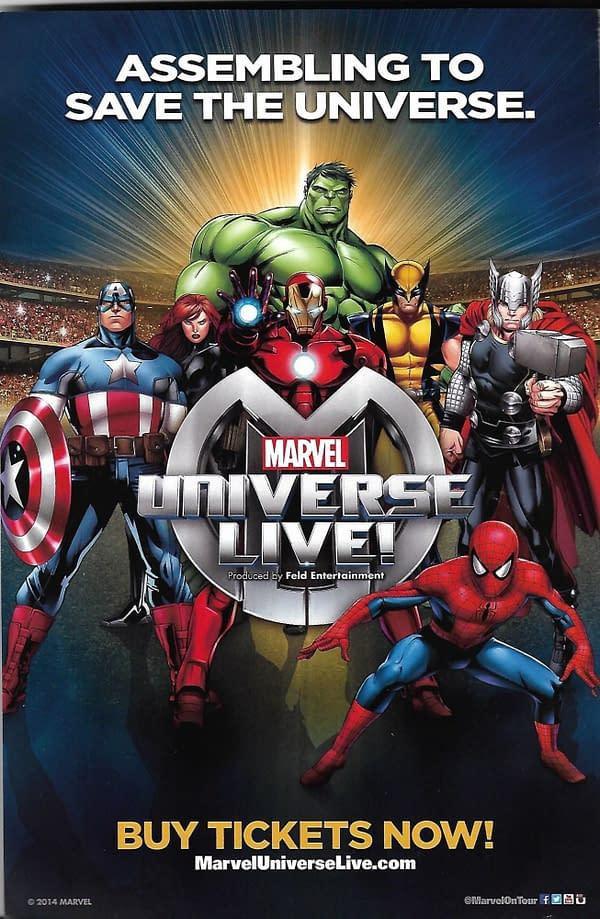 Marvel Universe LIVE! Ad