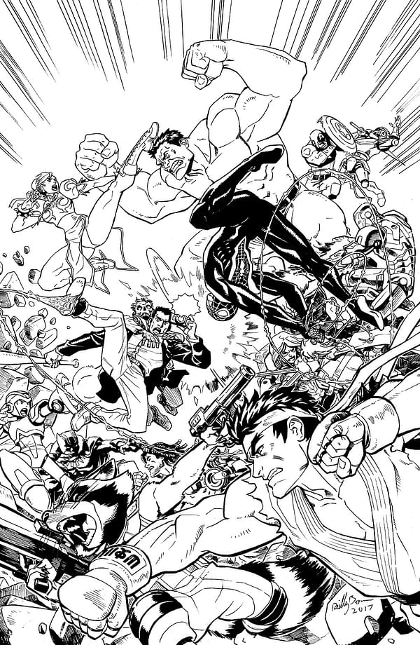 Reilly Brown's Variant Cover Reveals Miles Morales' Spider-Man Will Be In 'Marvel Vs Capcom: Infinite'