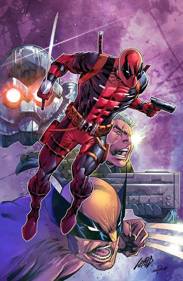 Who is Shatterstorm?! Rob Liefeld Teases New Character for Deadpool: Badder Blood