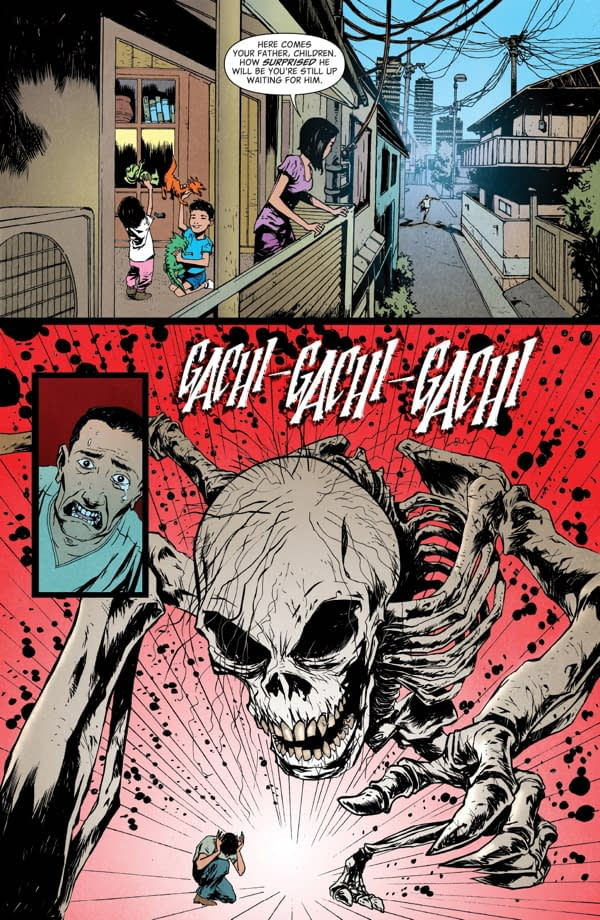 Hungry Ghosts #1 art by Alberto Ponticelli and Jose Villarrubia