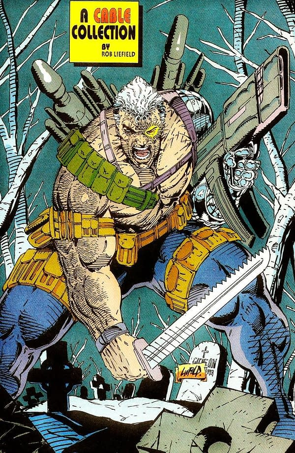 The History of Rob Liefeld and His Pouches