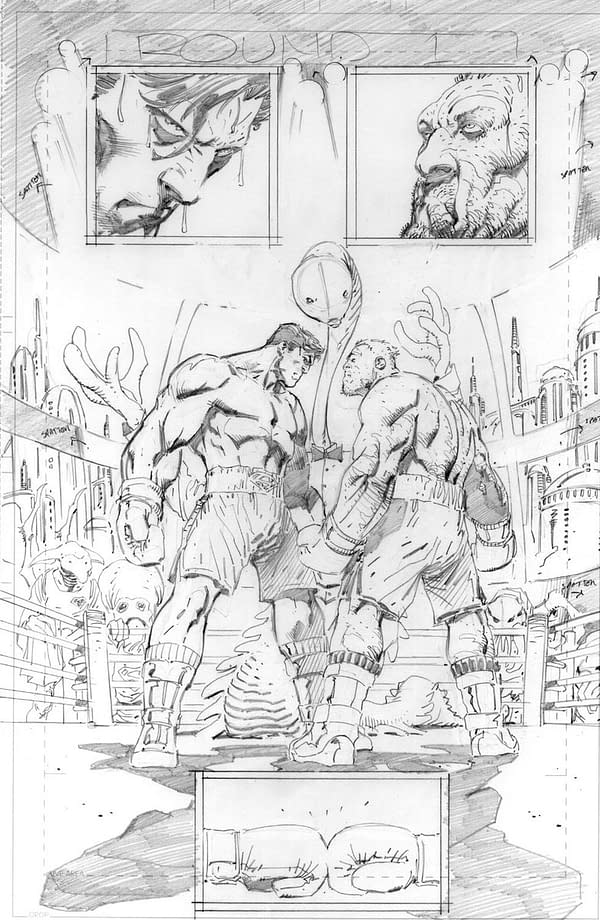Superman Gets in the Boxing Ring for Tom King and Andy Kubert's Walmart-Exclusive Story, 'Up in the Sky'