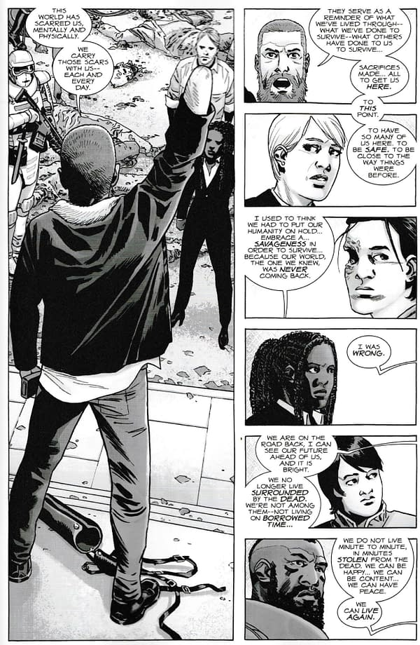 Today's Walking Dead #190 Changes the Concept of the Comic Book