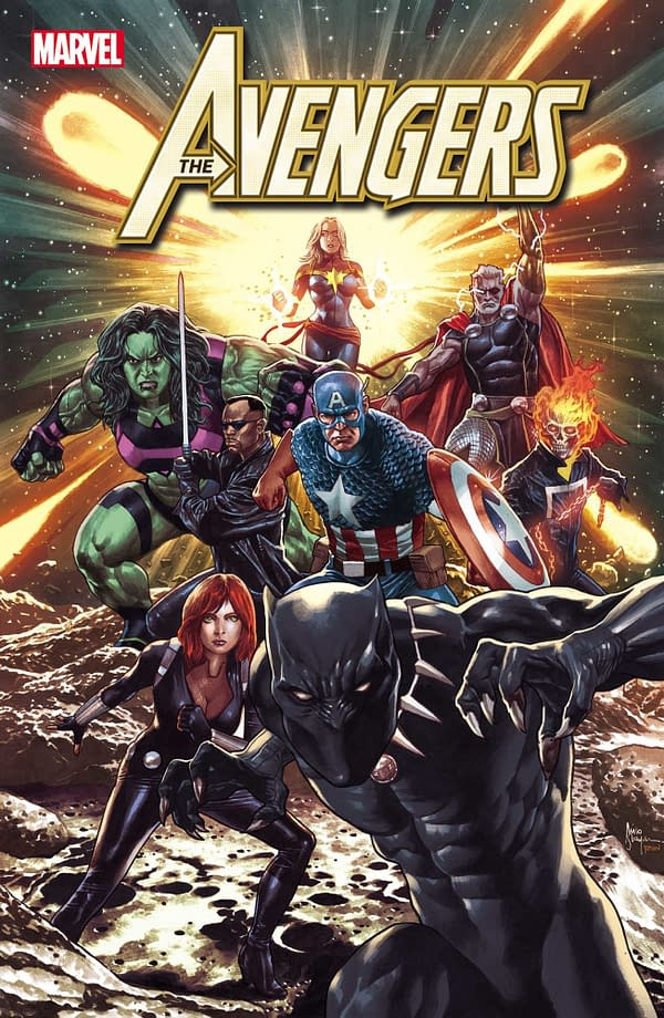 The Avengers Get New Looks in January: War Widow, Brood Thor, Captain Corsair, and More