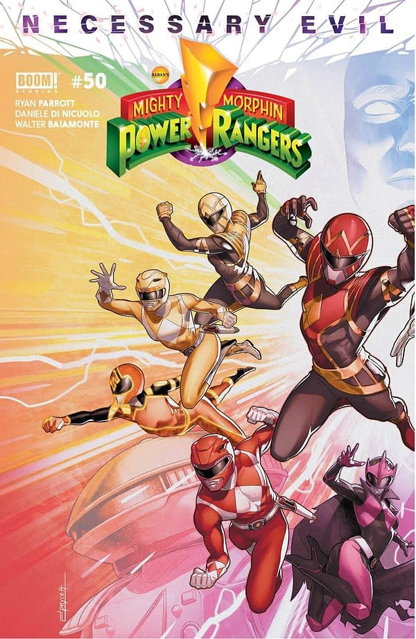 Mighty Morphin Power Rangers #50 Main Cover