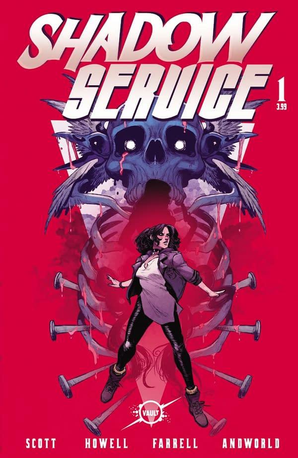 Shadow Service #1 from Cavan Scott and Corin Howell. Credit: Vault Comics