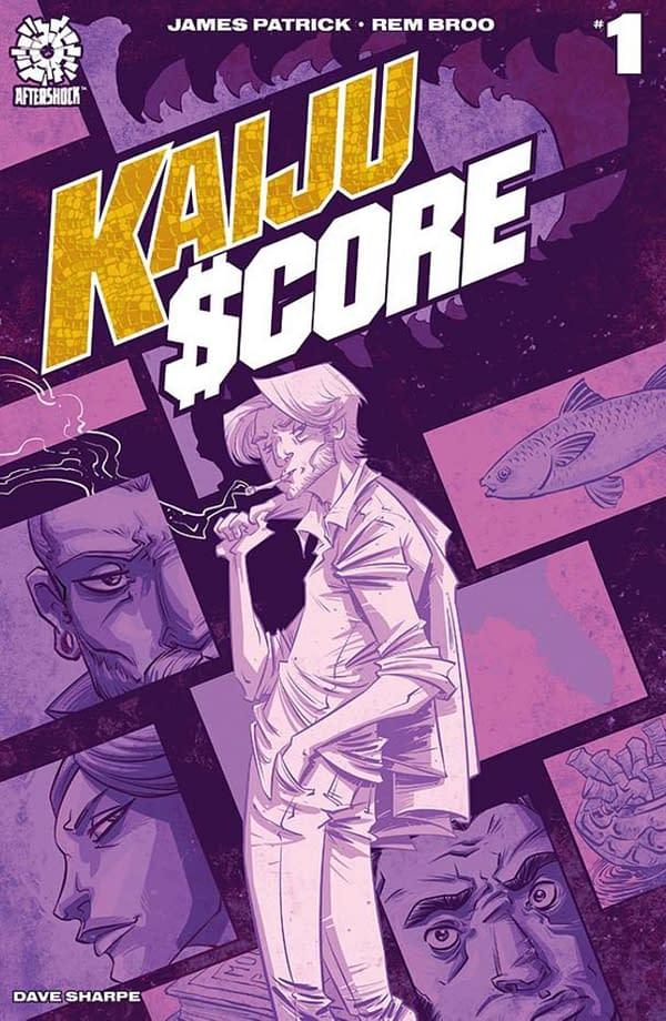 Kaiju Score #1 From James Patrick and Rem Broo Gets A Second Printing