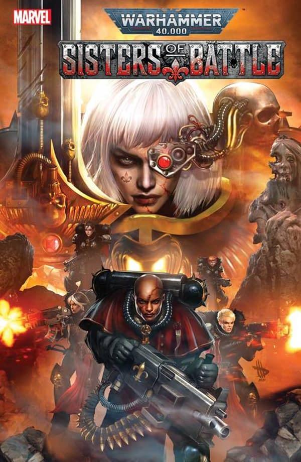 Torunn Grønbekk & Edgar Salazar Launch Warhammer 40K Sisters Of Battle