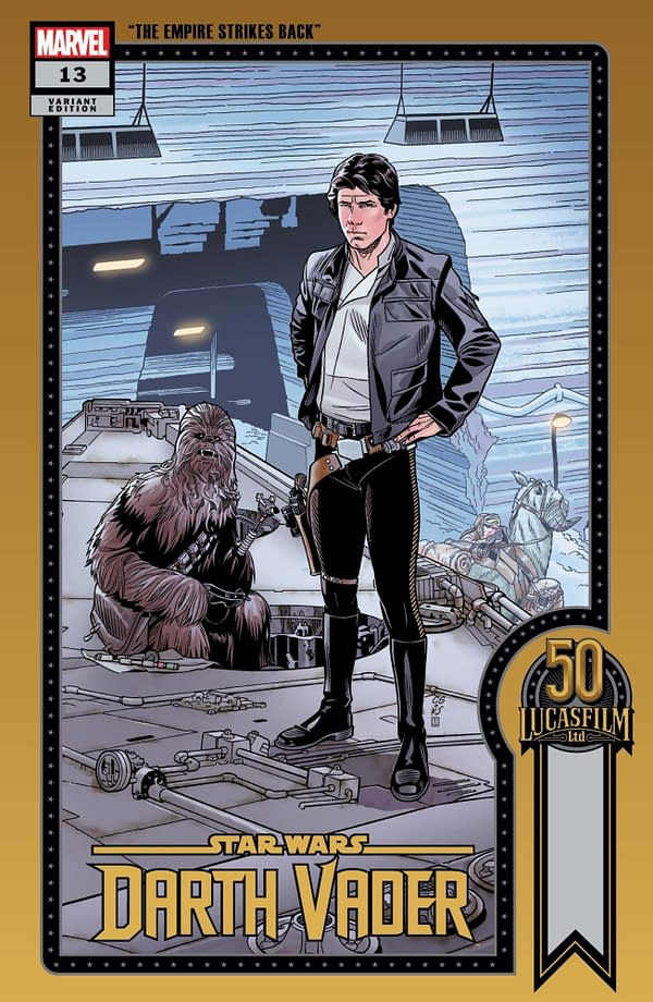 Cover image for STAR WARS DARTH VADER #13 SPROUSE LUCASFILM 50TH VAR