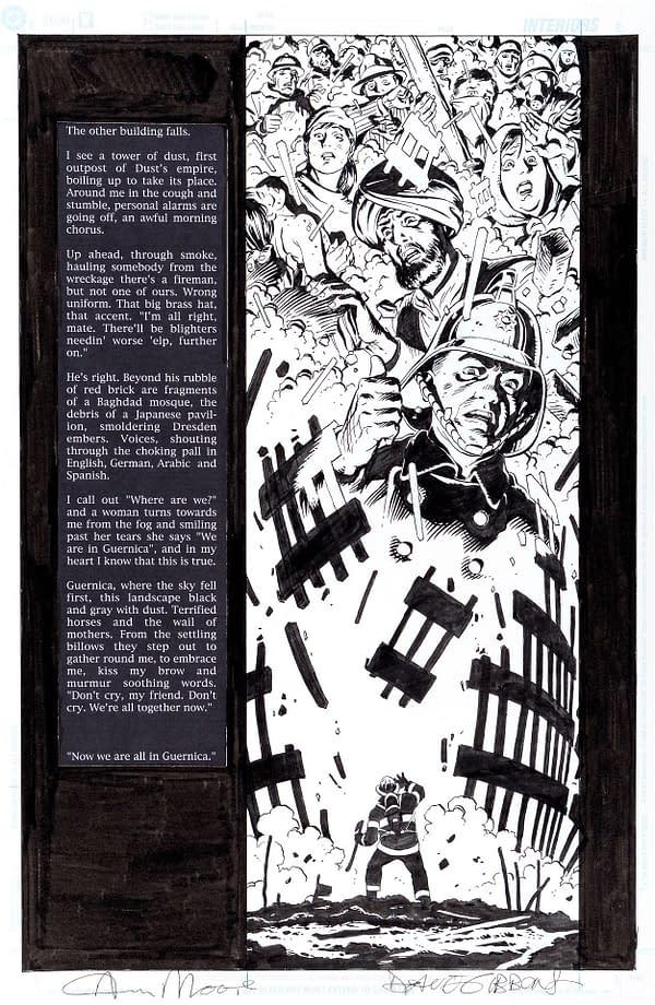 Tom Brevoort Posts Alan Moore's Script For Guernica