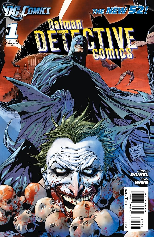 Preview: Detective Comics #1 by Tony Daniel