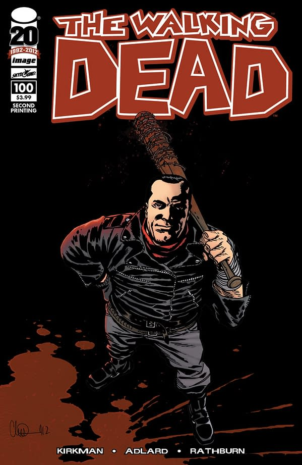 383,612 Issues Is Not Enough – Walking Dead #100 Gets A Second Print
