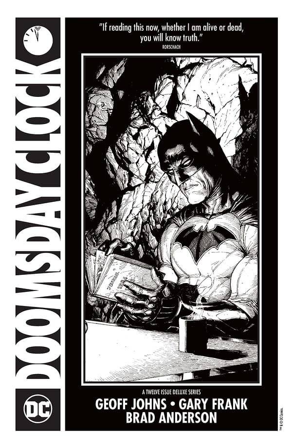 All The Fully Lettered Pages Of The Doomsday Clock Ashcan, Right Here, Right Now