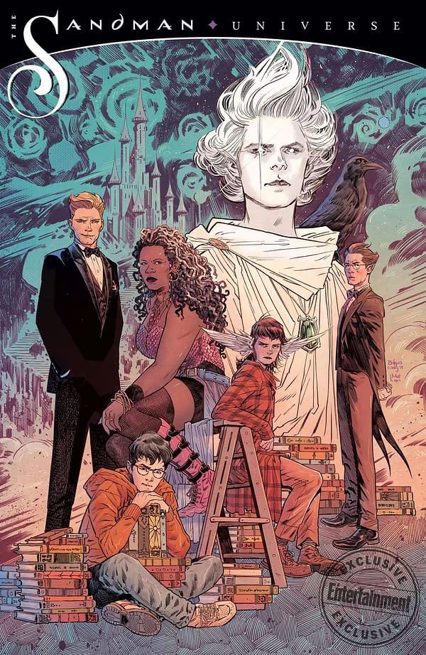 DC Comics Confirms Sandman Spinoff Imprint from Neil Gaiman, Nalo Hopkinson, Kat Howard, Si Spurrier, Dan Watters, and Bilquis Evely