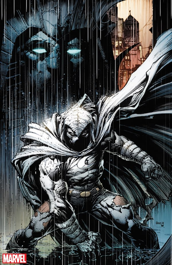 An Extra Special David Finch Variant for Moon Knight #200