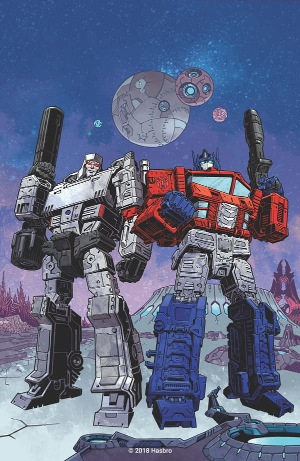 Brian Ruckley to Reboot Transformers for IDW, Twice-Monthly in March 2019