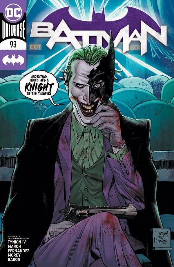 Batman #93 Main Cover