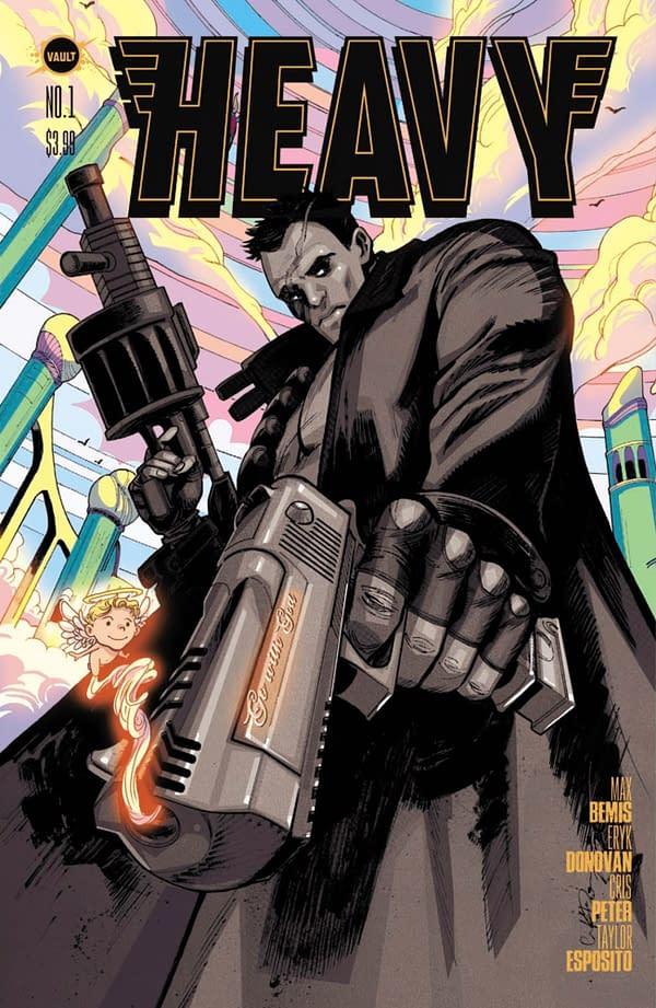 Heavy #1 by Max Bemis and Eryk Donovan. Credit: Vault Comics