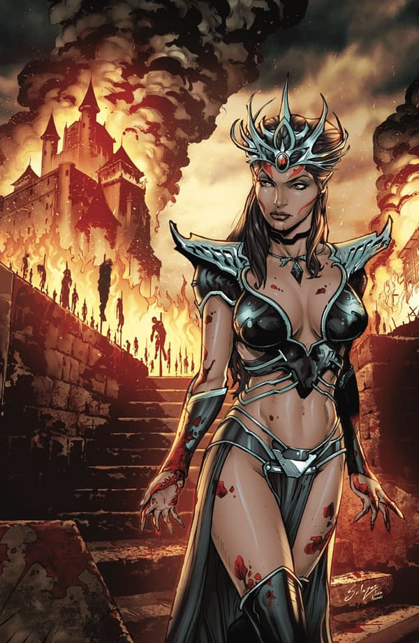Myths & Legends Quarterly: Dark Princess cover. Credit: Zenescope