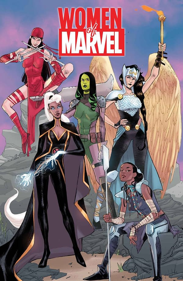 Maria Frohlich and Naomi Franquiz Join Women Of Marvel Anthology