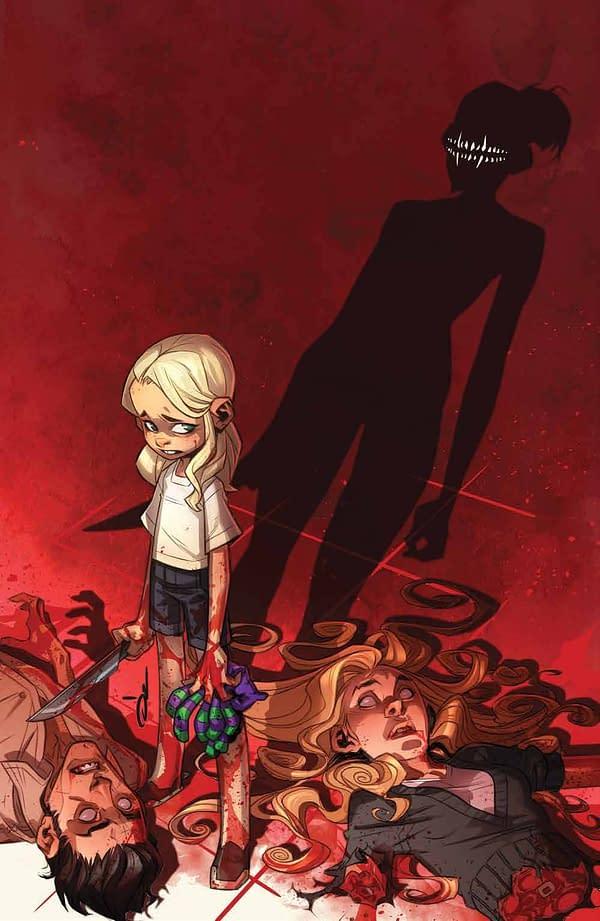 Cover image for SOMETHING IS KILLING THE CHILDREN #17 CVR B GLOW IN THE DARK