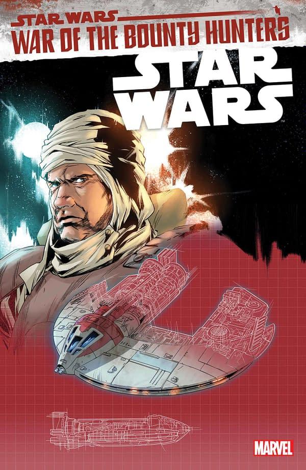 Cover image for STAR WARS #17 VILLANELLI BLUEPRINT VAR WOBH