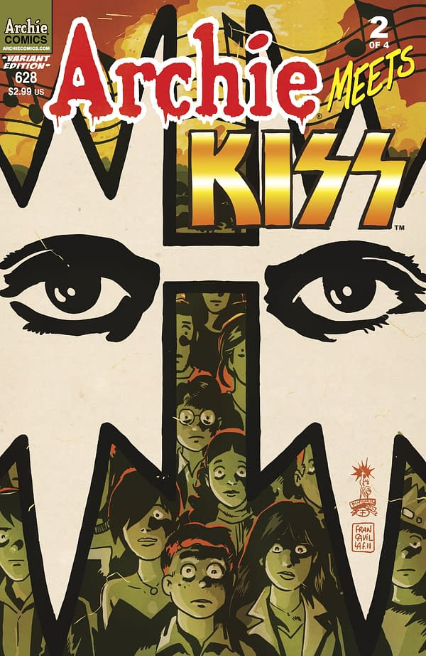 Archie Meets KISS Gets Rather Wonderful Variant Cover