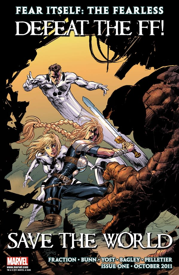 Fear Itself: Fearless Gets FF'ed Up As Marvel Causes Worldwide Run On The Letter F