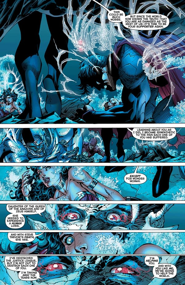 The First Five Pages Of Justice League #12