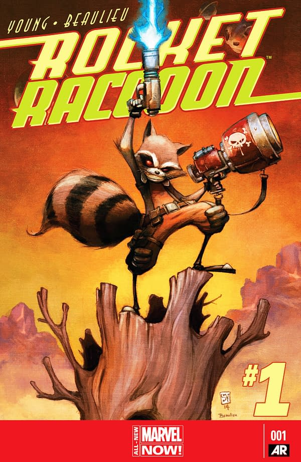 Rocket Raccoon Cover Pic