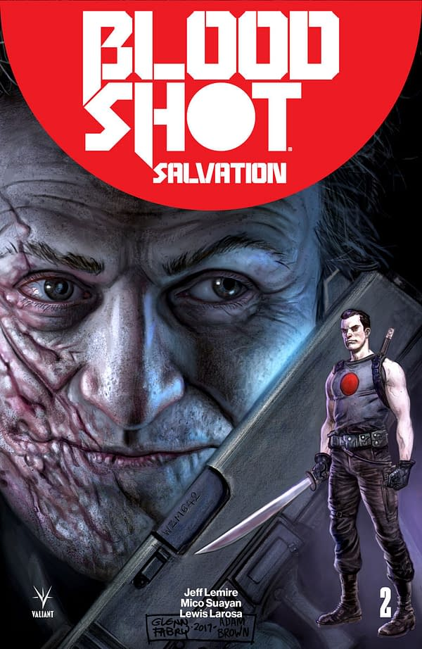 Valiant Unveils Bloodshot Icons Covers From Johnson, Fabry, Adams, Camuncoli, and More