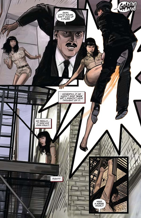 Writer's Commentary – David Avallone On Bringing Bettie Page Back To Comics