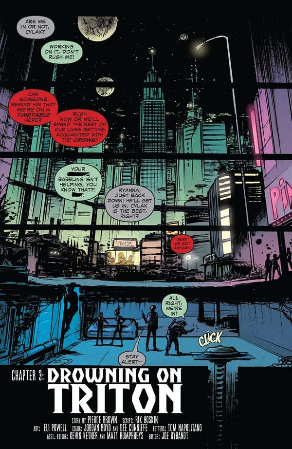 Writer's Commentary – Rik Hoskin Talks Red Rising: Sons Of Ares #3